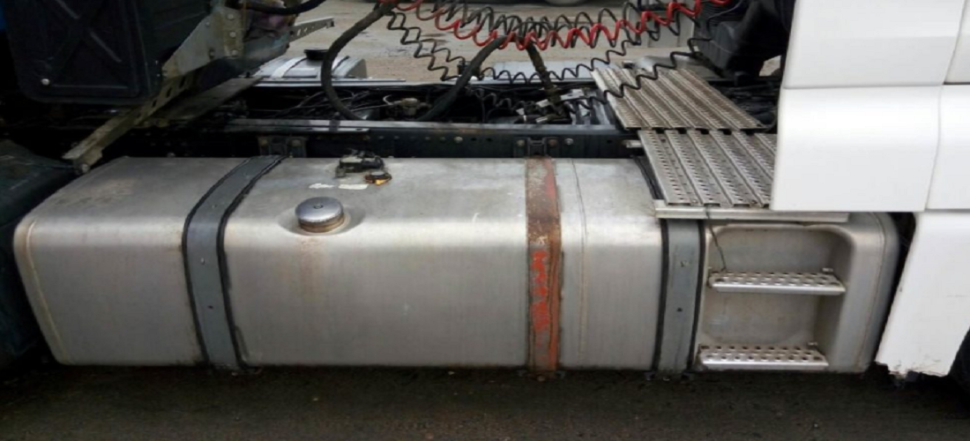 сварка алюминиевого топливного бака